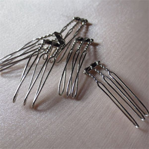 Small Metal Headpiece Combs