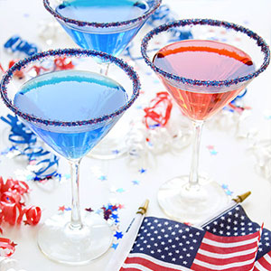 Red, White, and Blue Sugar