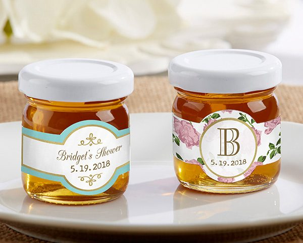 Personalized Tea Time Clover Honey (Set of 12)