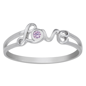 Sterling Silver Spread the Love Ring