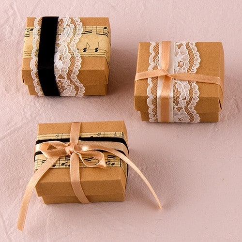 Vintage Style Favor Box Kit