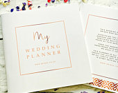 The Ultimate Wedding Planner For Brides 50 Page Wedding Organiser
