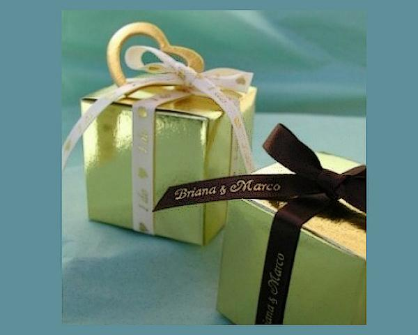 Personalized Box and Ribbon Favor Kit
