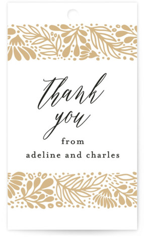 Adeline Wedding Favor Tags
