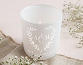 Wedding Gift Tealight Holder with Candles