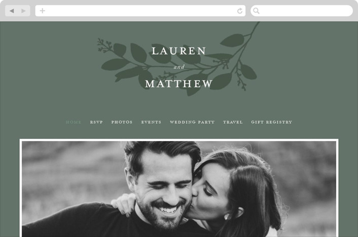 Falling Branch Wedding Websites