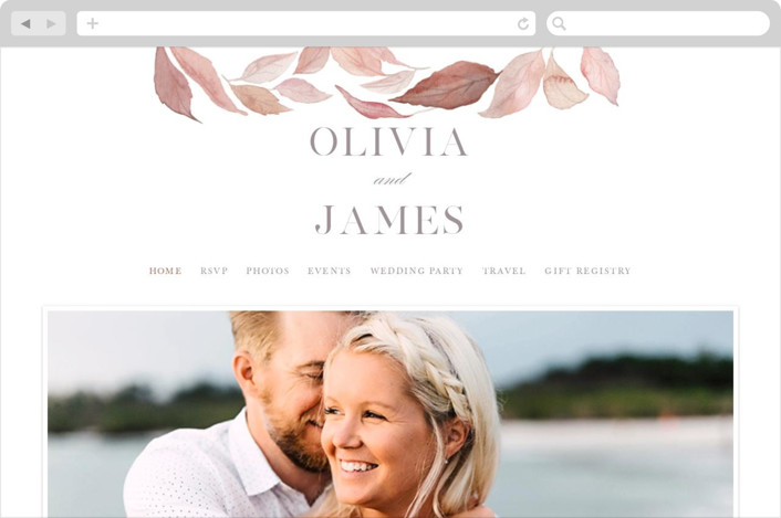 Fallen Wedding Websites
