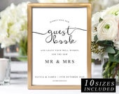 Wedding Guestbook Sign The One, Printable Guestbook Sign, Guest book , DIY Guestbook Template, Kindly Sign Our Guestbook, INSTANT DOWNLOAD