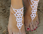 Barefoot sandals,Bridal jewelry,Wedding Barefoot Sandals,Beach wedding shoes,Sexy Foot Jewelry,Bridal Shoes,Beach Party,Bridesmaid Gift