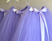 Lavender girls flower girl tutu skirt, flowers and confetti tutu, Princess tutu, tulle skirt, baby tutu, wedding tutu skirt
