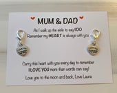 Mother of the bride gift, father of the bride gift, of all the walks gift, mum dad wedding day gift, mum of bride, dad of bride wedding day