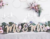 Gold Glitter Mr and Mrs Wooden Sign, Gold Wedding Decor, Rustic Wedding Decor, Country Wedding Decor, Wooden Wedding Signs, Wedding Signage