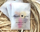 Ecofriendly glassine wedding favour sweet bags thank you different sizes pic n mix candy or sweet bags biodegradable favor bags