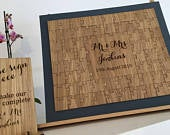Puzzle Guestbook Wooden Puzzle Guestbook Wedding Guestbook Alternative Guest Book Jigsaw Guestbook