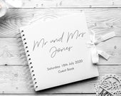 Wedding Guest Book Traditional Wedding Guest Book Guest Book