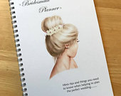 A5 Bridesmaid , Maid of Honour, Notebook Wedding Planner Journal Guide