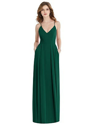 Special Order Pleated Skirt Maxi Dress with Pockets