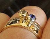 Luxe Gold Stacking Rings Customise to suit your style