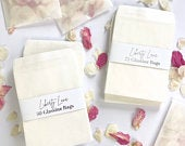100 Glassine Bags // Seed Packets // Confetti Bags // Tissues // Wedding Favours // Eco Wedding // Biodegradable // Wedding Envelopes // DIY