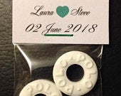Mint to be wedding, engagement, anniversary favours, party celebration
