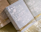 Kit di Scatolina Stile antico Antique Book Favor Box Kit