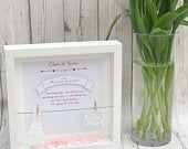 Bridesmaid Proposal, Be My Maid Of Honour, Bridesmaid Frame, Wedding Planning, Flower Girl Proposal, White Box Frame, Bridal Shower Ideas