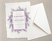 Wedding invitation template 5x7, Print at home Wedding, DIY wedding invite, printable stationery, instant download, edit online.