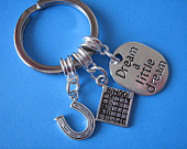 Bingo Keyring Good Luck Horseshoe Bingo Card Charm