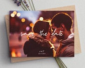 Photo Save The Date, Save The Date Cards, Save The Date Wedding, Save The Dates, Simple Save The Date, Minimalist Save The Dates 088