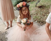 Nude Tutu, flower girls tutu, ballet tutu, baby tutu, birthday tutu, wedding tutu, flower girl dress, tutu for girls, tutu skirt