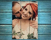Wedding Gift for Couple Gifts Wood Photo Pallet Wedding Gifts for Couple Gift Wedding Frame Wedding Picture Frame Personalized Gift for Wife