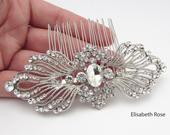 Crystal Wedding Hair Comb, Rhinestone Hair Comb for Wedding, Crystal Hair Comb, Comb for Wedding Hair, Bride Hair Comb, Wedding Hair Comb
