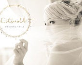 Beautiful Cut Edge, Two Tier, Blusher Wedding Veil, Chapel Length Veil, Pink or Ivory, Plain or Pearl Veil