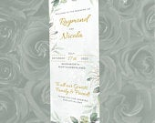 Wedding Roll Up Banner Floral Welcome 6ft banner, Personalised Wedding Pullup / Rollup Banner,