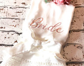 Cotton Wedding Party Robes, Personalised Cotton And Lace Standard And Plus Size Robes, Bride Cotton Dressing Gown