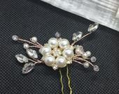 Bridal Diamonte Vintage Look Hair comb