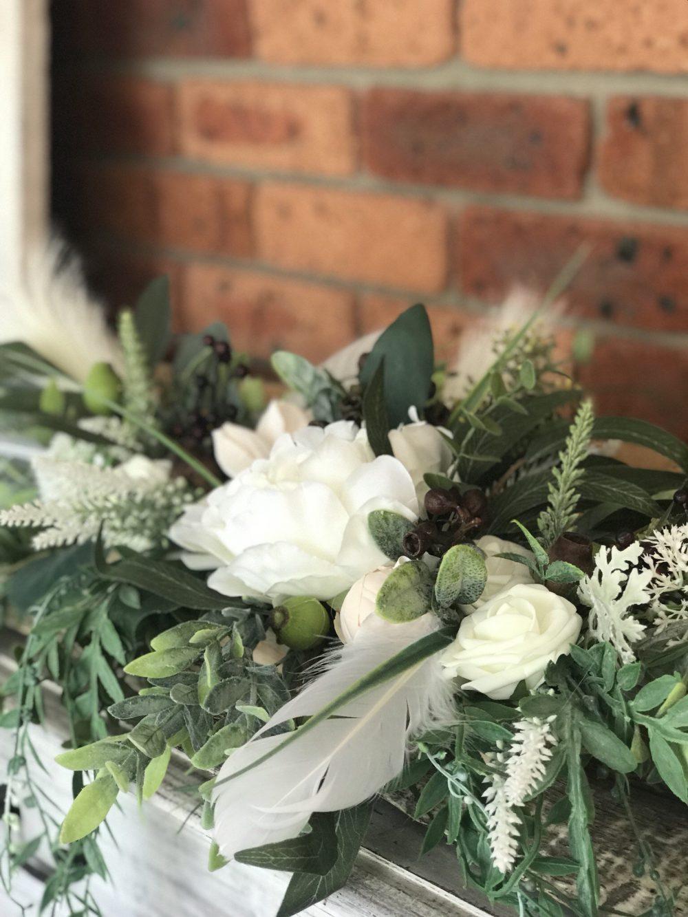 Arbour, Arch, Table Top Or Garden Floral Arrangement... A Straight 50cm