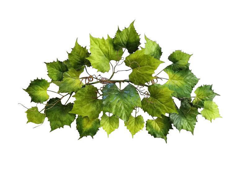 "35"" Grape Leaves Swag"