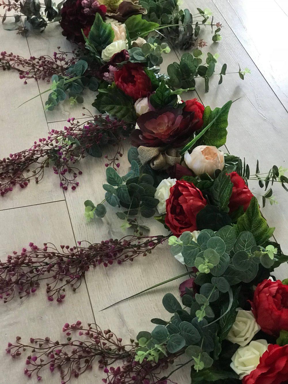 Arbour, Arch Or Garden Floral Arrangement... A Straight 2 Metres