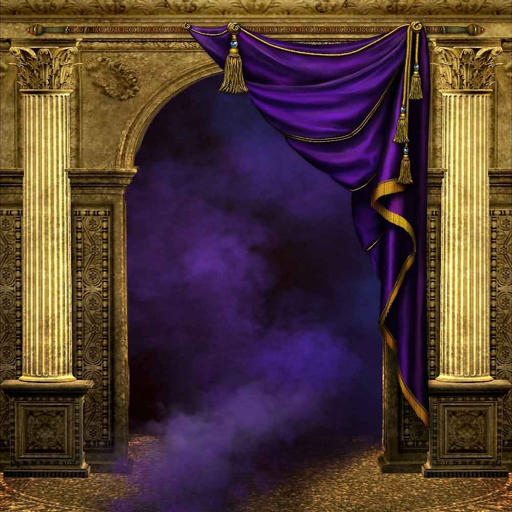 Arch & Pillars 10Ft X Backdrop Computer Printed Photography Background Xlx-071