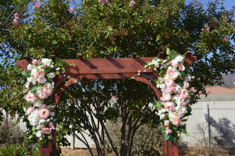 Arch Flowers, Wedding Arch Flowers, Corner Pieces, Pieces