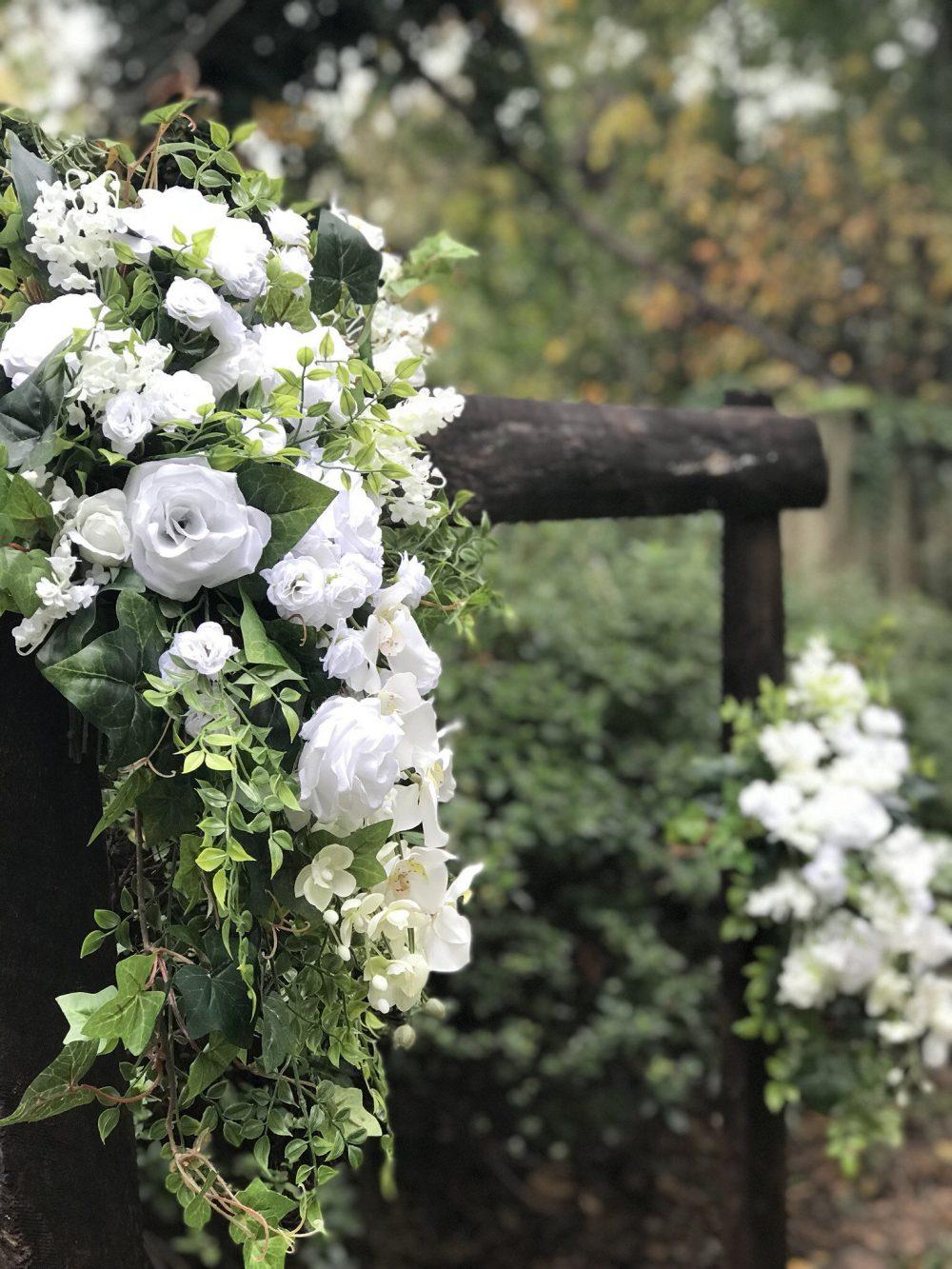 2 Piece Princess Diana Replica Wedding Arch/Arbor Arrangement