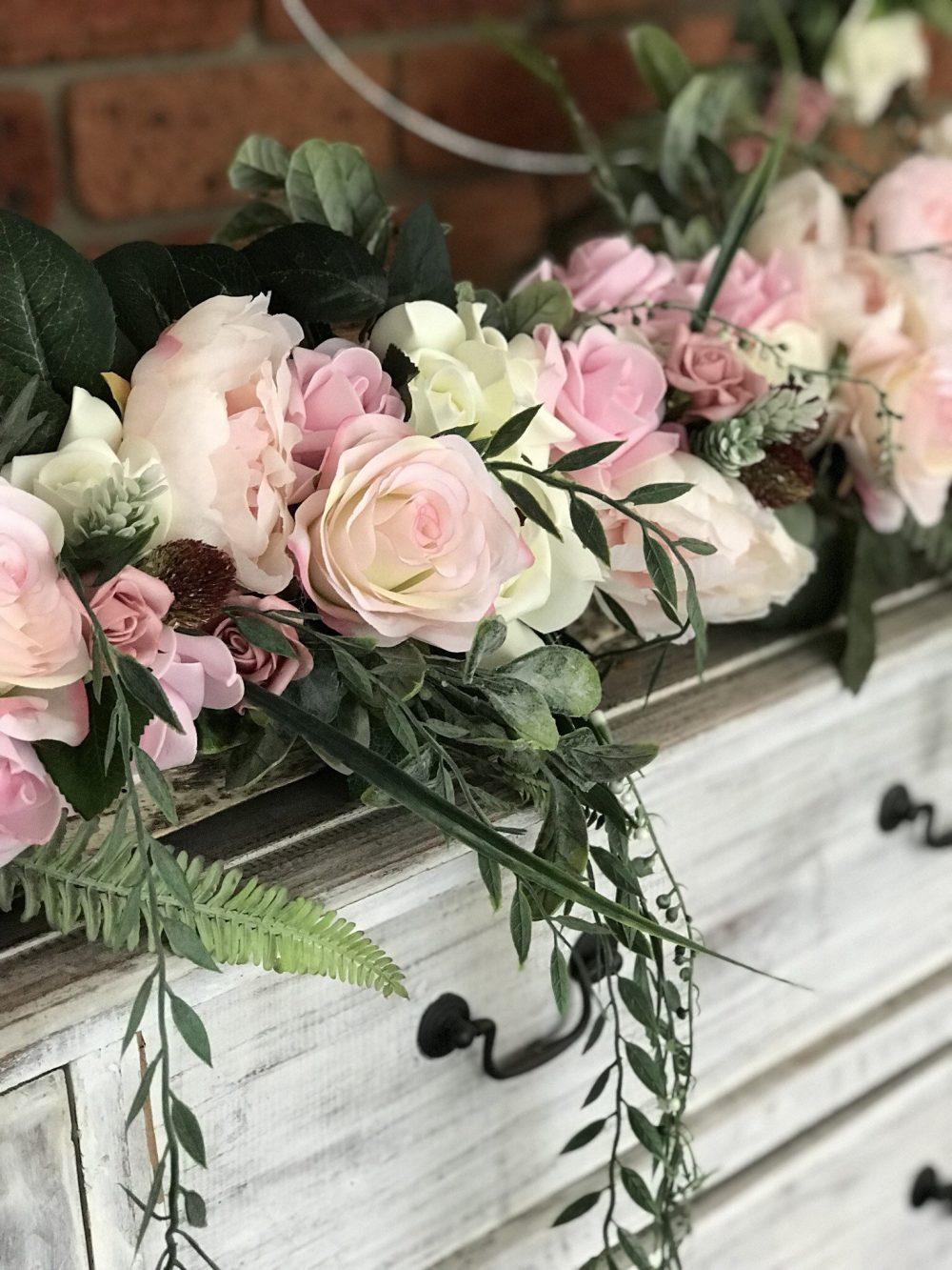 Arbour, Arch Or Garden Floral Arrangement 1 Metre By