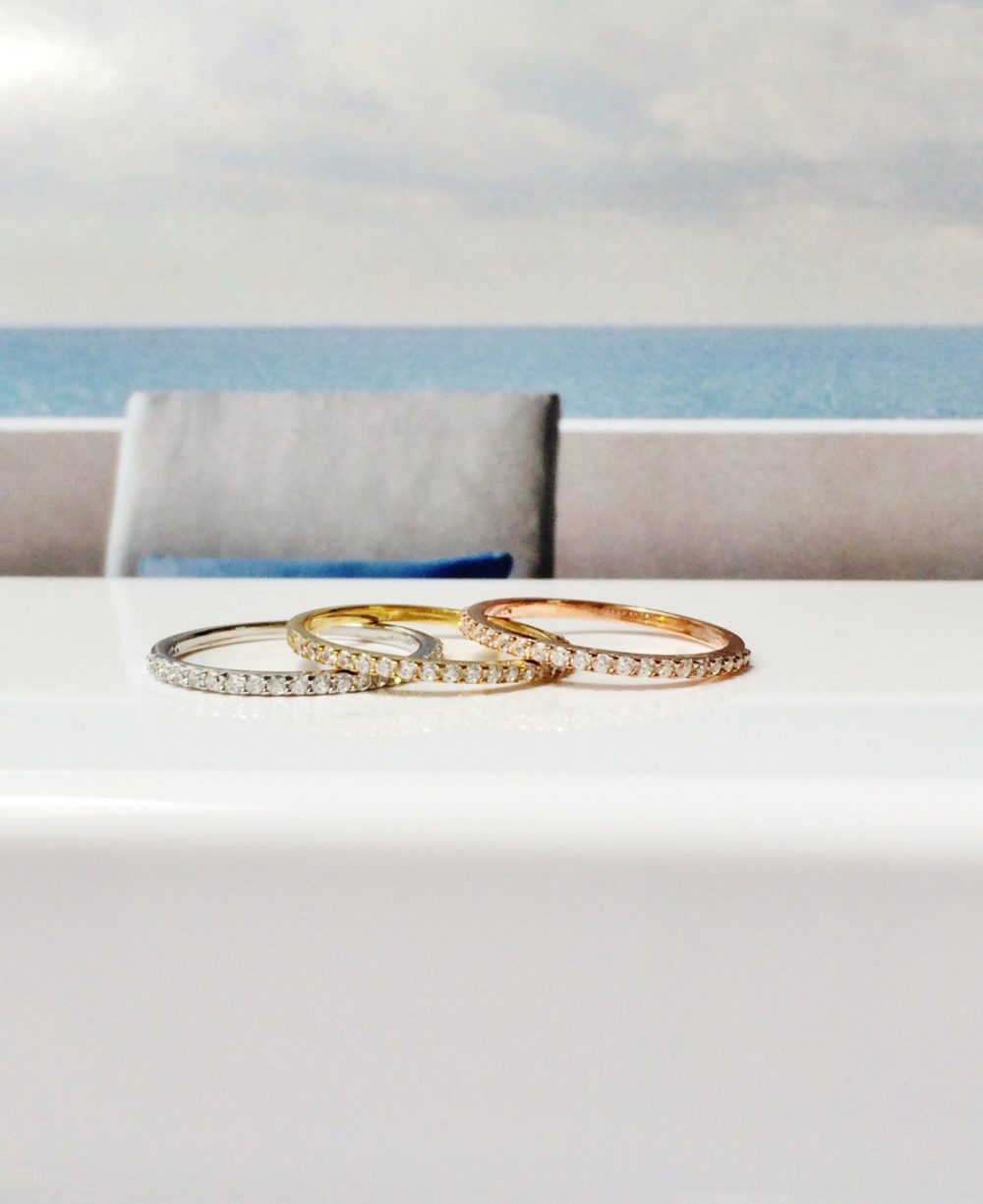 Clearance Sale Eternity Band Ring, Stackable Rings, Gold Engagement Silver Gifts, Ring On Sale, Eternity Ring