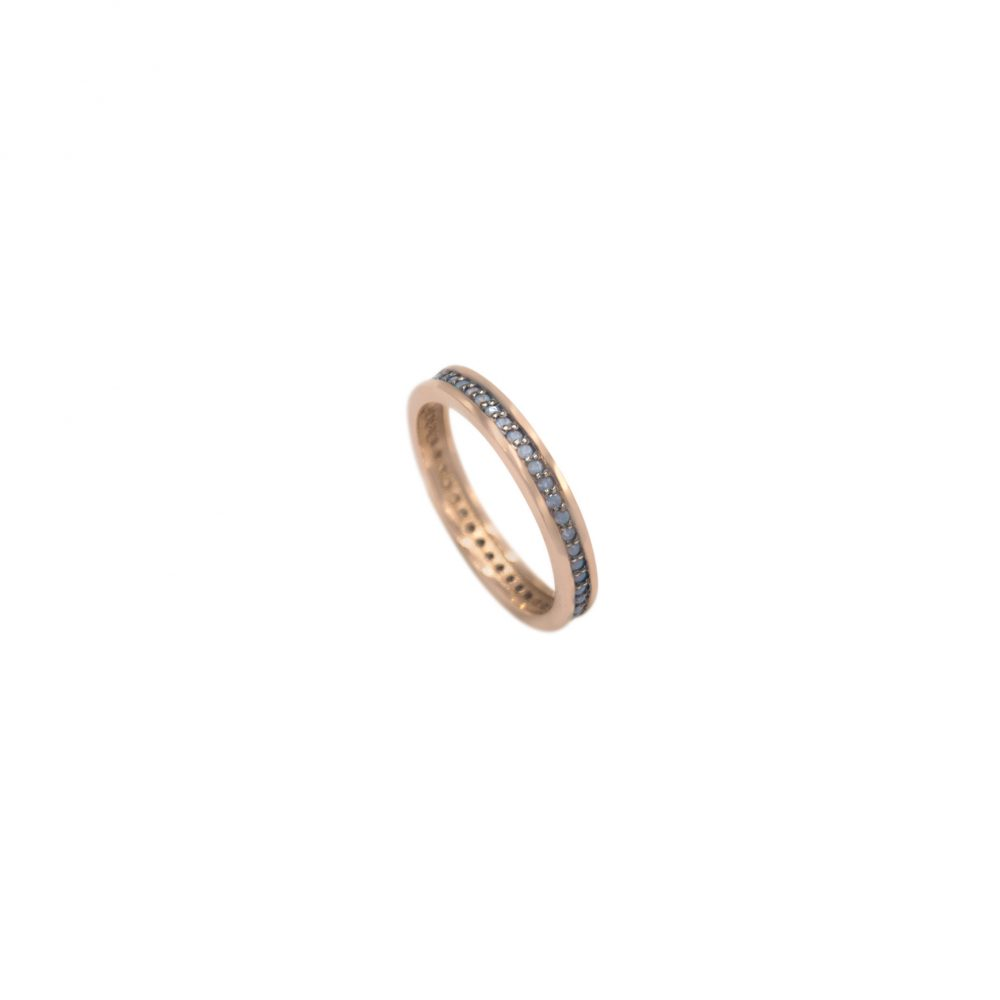 Gold Eternity Band, Ring, Opal Band Thin Stacking Wedding Engagement Ring