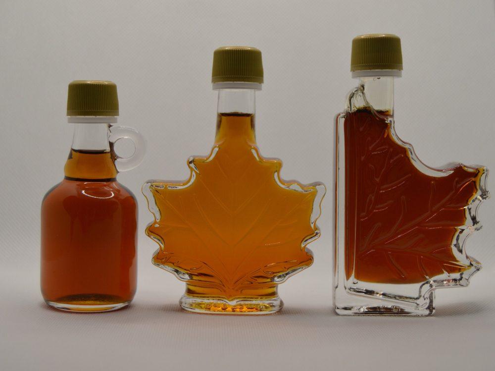 Maple Syrup Favors, Wedding Vintage Souvenirs, Leaf Favours