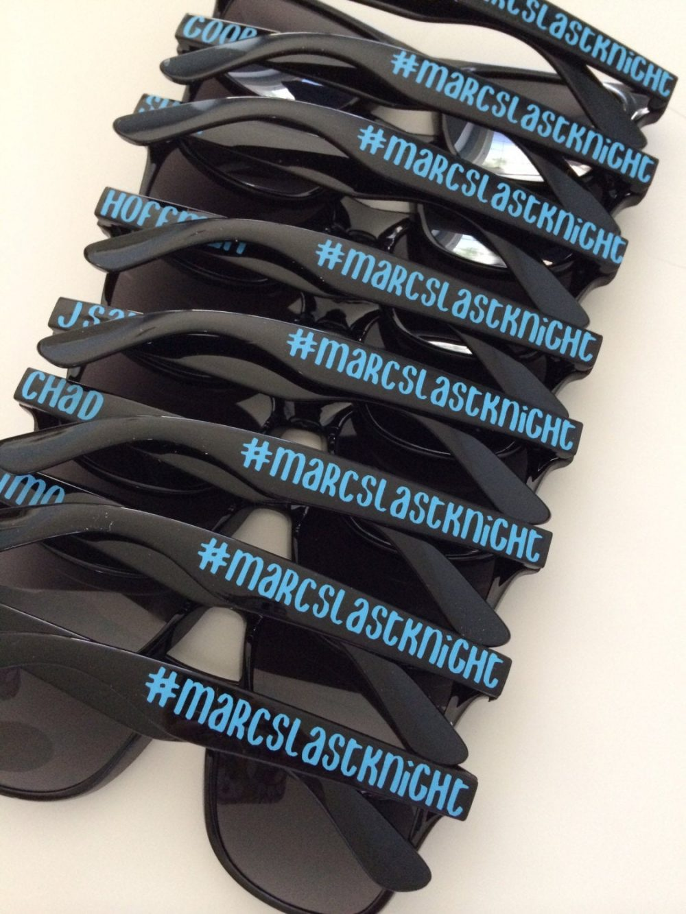 Bachelor Party Favor, Stag Party, Last Night Out Personalized Sunglasses, Custom Destination Wedding, Wedding Favor