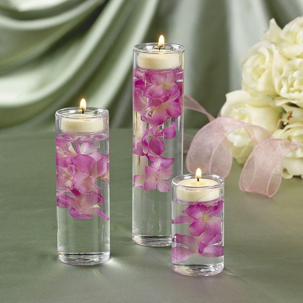 Clear Cylinder Glas Vase Centerpiece, 3-Inch Open, Bulk Case, Vcy03xx