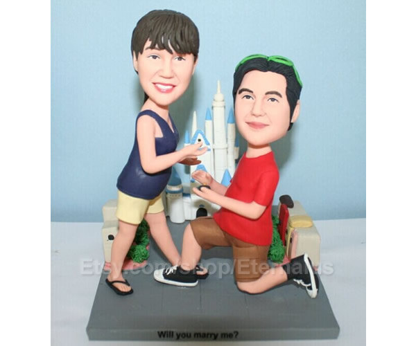 Custom Bride & Groom Wedding Cake Topper .custom Cake Topper From Your Photo. Vacation Souvenirs, Best Wedding