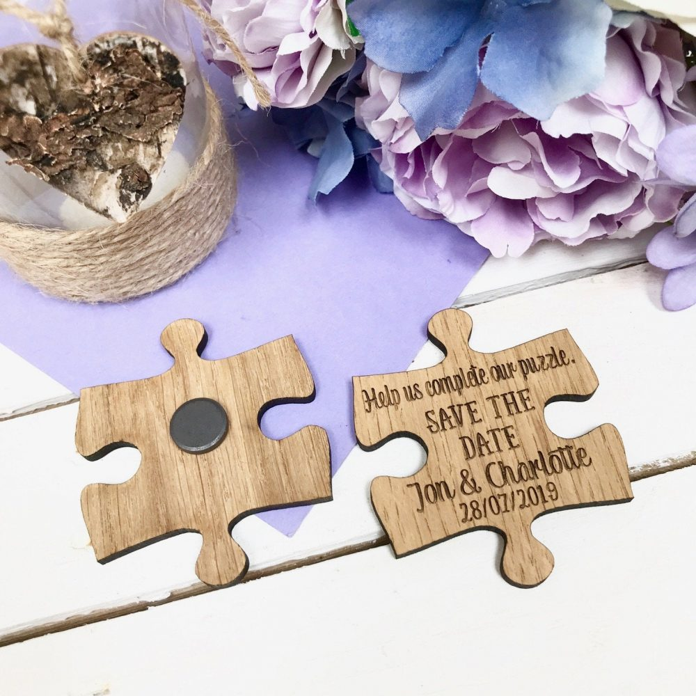 Save The Date, Save Date Magnet, Rustic Wedding Announcement, Wooden Wedding, Magnet 09std